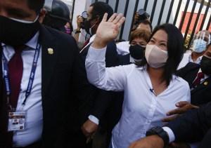Keiko Fujimori pasó al segundo lugar en el escrutinio provisorio de las elecciones presidenciales en Perú