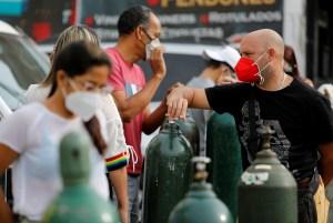 Con más de 1.300 nuevos contagios, la pandemia en Venezuela sigue haciendo estragos