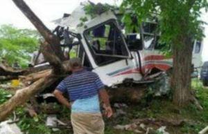 Colisión dejó un muerto y 15 heridos en la autopista Lara-Zulia