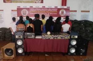 """GNB detiene a 14 personas en San Félix por realizar una """"corona party"""" clandestina"""