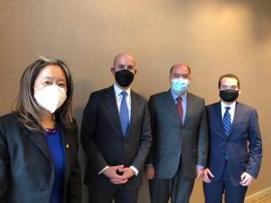 Borges y Guanipa se reunieron con funcionarios de la Casa Blanca en Bogotá