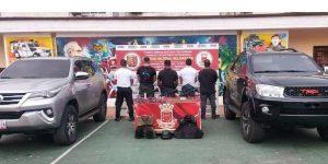 Capturan a cuatro detectives del Cicpc con armas de guerra y camionetas blindadas