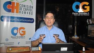 Concejal González Florez: Seguimos trabajando y dando el ejemplo por Chacao