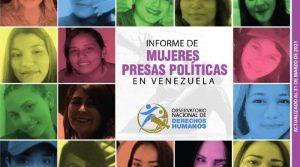 El revelador informe del Observatorio de DDHH: 19 presas políticas, algunas torturadas y alejadas de sus hijos