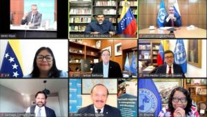 Maduro habló con directores de OMS y OPS sobre entrega de vacunas del Covax