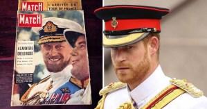 El asombroso parecido entre el príncipe Felipe y el príncipe Harry que acaban con las dudas sobre su verdadero padre (FOTO)