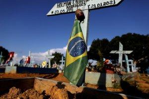 Brasil registró poco más de mil muertes por Covid-19 en las últimas 24 horas