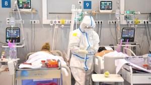 Rusia bate de nuevo su récord de muertes diarias por Covid-19