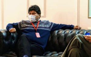 Evo Morales llegó a Venezuela para echarse un paseíto y visitar a su amigo, Nicolás Maduro (Fotos)