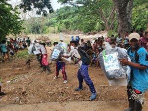 ONU prestó apoyo a indígenas Yukpa en Zulia, afectados por inundaciones