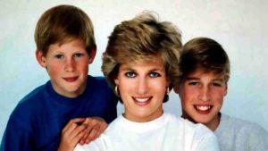 """""""Desconsolada"""": Así estaría la princesa Diana ante la discordancia de Harry con William"""
