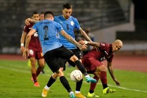 Una Vinotinto aguerrida rescató valioso empate ante Uruguay en Caracas
