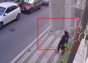 VIRAL: Se salvó por centímetros de morir aplastada por un sofá (VIDEO)