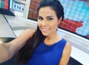 ¡Ups! Periodista de VTV se peló al hablar de una miniserie chavista sobre Carabobo (Video)