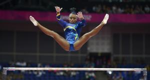 Ídolo Rebeca Andrade recordó que la gimnasia era vetada para los afrodescendientes en Brasil