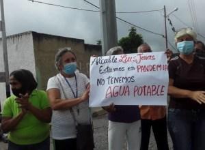 Protestaron en Barquisimeto ante graves fallas en los servicios públicos