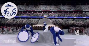 EN VIDEO: El impresionante show de los pictogramas en la Ceremonia de Apertura de los JJOO