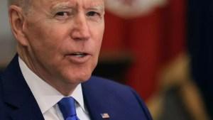 Biden propuso pagar 100 dólares a cada norteamericano que se vacune