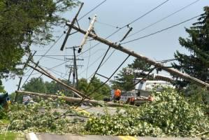 Fuertes tormentas y tornados azotaron el estado de Míchigan (VIDEOS)