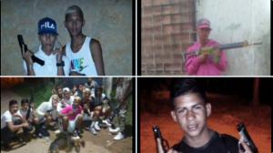 RECONÓCELOS: Estos son los presuntos integrantes de las pandillas que azotan los Valles del Tuy (FOTOS)