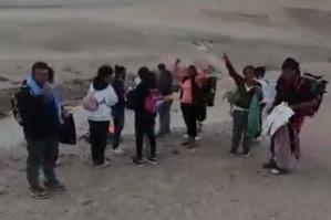 Hallaron a venezolanos que se habían extraviado en un desierto peruano (Video)