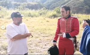 Carlos Daniel Alvarado trabajaba en una miniserie chavista de VTV mientras su hermana se casaba (PRUEBAS)