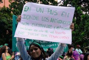 Manifestaron en Caracas para exigir la despenalización del aborto (Fotos y video)