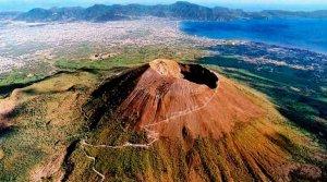 La increíble FOTO de uno de los volcanes más mortíferos de la historia desde el espacio