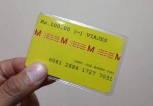 Tarjetas del transporte argentino se convierten en tickets del Metro de Caracas por una noble causa