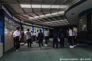 Colegios en Caracas, entre protección y entusiasmo por el regreso a clases (Fotos)