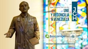 Bancamiga acompaña los esfuerzos de la Iglesia Católica para la canonización de José Gregorio Hernández