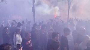 En VIDEO los fanáticos del Barcelona en los alrededores del Camp Nou