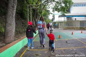 EN FOTOS: Así es el regreso a clases en Venezuela tras año y medio de cuarentena este #25Oct
