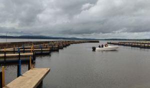 Curiara naufragó con cinco personas a bordo en Bolívar